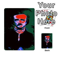 Edgar Allan Poe Pop Art  Multi Purpose Cards (rectangle)  by icarusismartdesigns