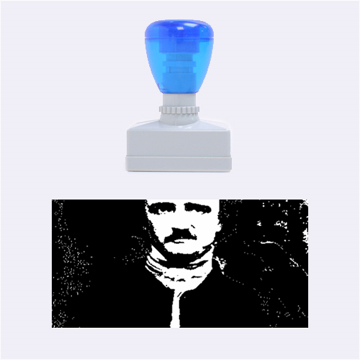 Edgar Allan Poe Pop Art  Rubber Stamps (Medium)