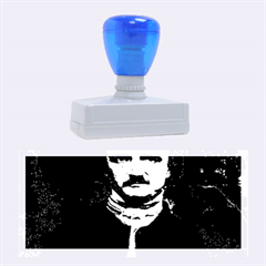 Edgar Allan Poe Pop Art  Rubber Stamps (large) by icarusismartdesigns