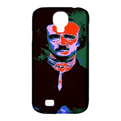 Edgar Allan Poe Pop Art  Samsung Galaxy S4 Classic Hardshell Case (pc+silicone) by icarusismartdesigns