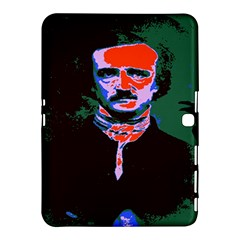 Edgar Allan Poe Pop Art  Samsung Galaxy Tab 4 (10 1 ) Hardshell Case  by icarusismartdesigns