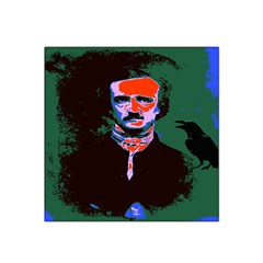Edgar Allan Poe Pop Art  Satin Bandana Scarf by icarusismartdesigns