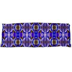 Blue White Abstract Flower Pattern Body Pillow Cases Dakimakura (two Sides)  by Costasonlineshop