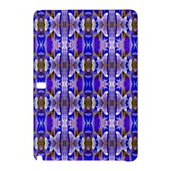 Blue White Abstract Flower Pattern Samsung Galaxy Tab Pro 12 2 Hardshell Case