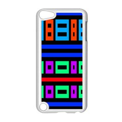Rectangles And Stripes 			apple Ipod Touch 5 Case (white)