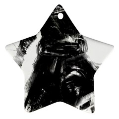 Assassins Creed Black Flag Tshirt Star Ornament (two Sides)  by iankingart