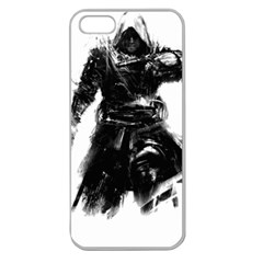 Assassins Creed Black Flag Tshirt Apple Seamless Iphone 5 Case (clear) by iankingart