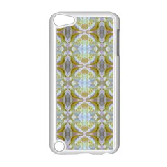 Beautiful White Yellow Rose Pattern Apple Ipod Touch 5 Case (white) by Costasonlineshop