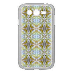 Beautiful White Yellow Rose Pattern Samsung Galaxy Grand Duos I9082 Case (white) by Costasonlineshop