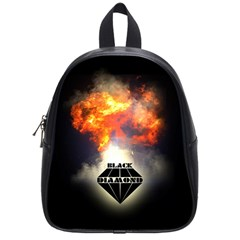 Blackdiamond   Quotation School Bags (small)  by RespawnLARPer
