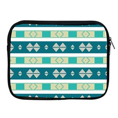 Rhombus And Stripes 			apple Ipad 2/3/4 Zipper Case by LalyLauraFLM