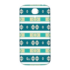 Rhombus And Stripes 			samsung Galaxy S4 I9500/i9505 Hardshell Back Case by LalyLauraFLM