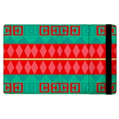 Rhombus Stripes And Other Shapes 			apple Ipad 2 Flip Case by LalyLauraFLM