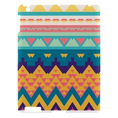 Pastel Tribal Design 			apple Ipad 3/4 Hardshell Case by LalyLauraFLM