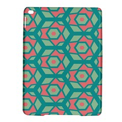 Pink Honeycombs Flowers Pattern  			apple Ipad Air 2 Hardshell Case by LalyLauraFLM