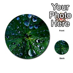 Morning Dew Multi Purpose Cards (round)  by Costasonlineshop