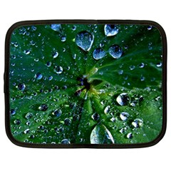 Morning Dew Netbook Case (large) by Costasonlineshop