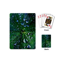 Morning Dew Playing Cards (mini)  by Costasonlineshop