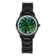 Morning Dew Stainless Steel Round Watches by Costasonlineshop