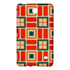 Squares And Rectangles In Retro Colors 			samsung Galaxy Tab 4 (7 ) Hardshell Case by LalyLauraFLM