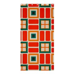 Squares And Rectangles In Retro Colors 	shower Curtain 36  X 72  by LalyLauraFLM