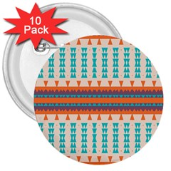 Etnic Design 			3  Button (10 Pack) by LalyLauraFLM