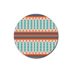Etnic Design 			rubber Coaster (round) by LalyLauraFLM