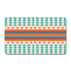 Etnic Design 			magnet (rectangular) by LalyLauraFLM