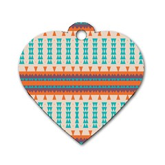 Etnic Design 			dog Tag Heart (one Side) by LalyLauraFLM