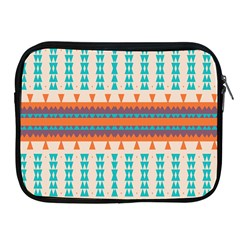 Etnic Design 			apple Ipad 2/3/4 Zipper Case by LalyLauraFLM