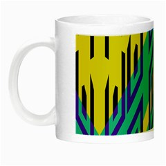 Tribal Angles Night Luminous Mug by LalyLauraFLM