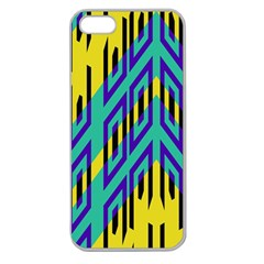 Tribal Angles 			apple Seamless Iphone 5 Case (clear) by LalyLauraFLM