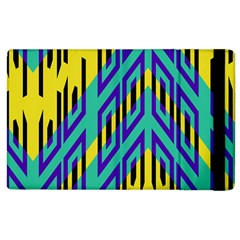 Tribal Angles 			apple Ipad 2 Flip Case by LalyLauraFLM