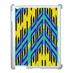 Tribal Angles 			apple Ipad 3/4 Case (white)