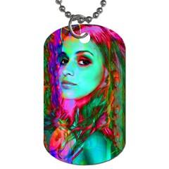 Alice In Wonderland Dog Tag (one Side) by icarusismartdesigns