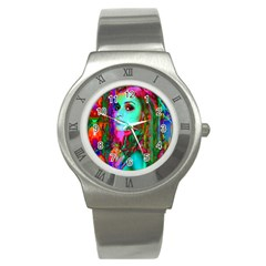 Alice In Wonderland Stainless Steel Watches by icarusismartdesigns