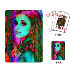 Alice In Wonderland Playing Card by icarusismartdesigns