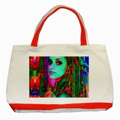 Alice In Wonderland Classic Tote Bag (red)  by icarusismartdesigns