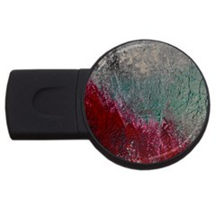Metallic Abstract 1 Usb Flash Drive Round (2 Gb)  by timelessartoncanvas