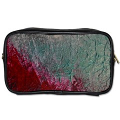 Metallic Abstract 1 Toiletries Bags 2 Side by timelessartoncanvas
