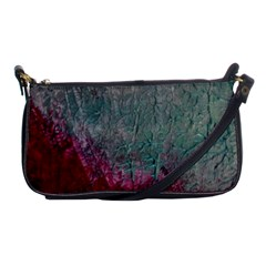 Metallic Abstract 1 Shoulder Clutch Bags by timelessartoncanvas