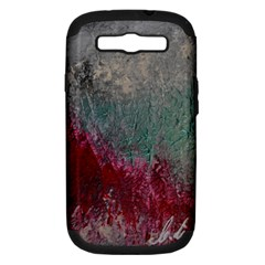 Metallic Abstract 1 Samsung Galaxy S Iii Hardshell Case (pc+silicone) by timelessartoncanvas