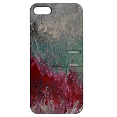 Metallic Abstract 1 Apple Iphone 5 Hardshell Case With Stand by timelessartoncanvas