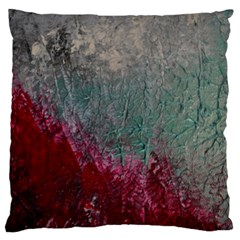 Metallic Abstract 1 Standard Flano Cushion Cases (one Side)  by timelessartoncanvas