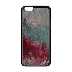 Metallic Abstract 1 Apple Iphone 6/6s Black Enamel Case by timelessartoncanvas