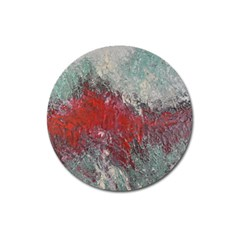 Metallic Abstract 2 Magnet 3  (round) by timelessartoncanvas
