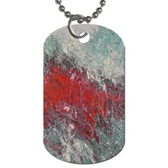 Metallic Abstract 2 Dog Tag (two Sides) by timelessartoncanvas