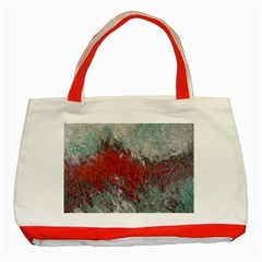 Metallic Abstract 2 Classic Tote Bag (red)  by timelessartoncanvas