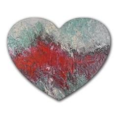 Metallic Abstract 2 Heart Mousepads by timelessartoncanvas