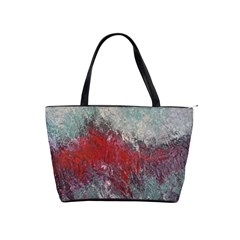 Metallic Abstract 2 Shoulder Handbags by timelessartoncanvas